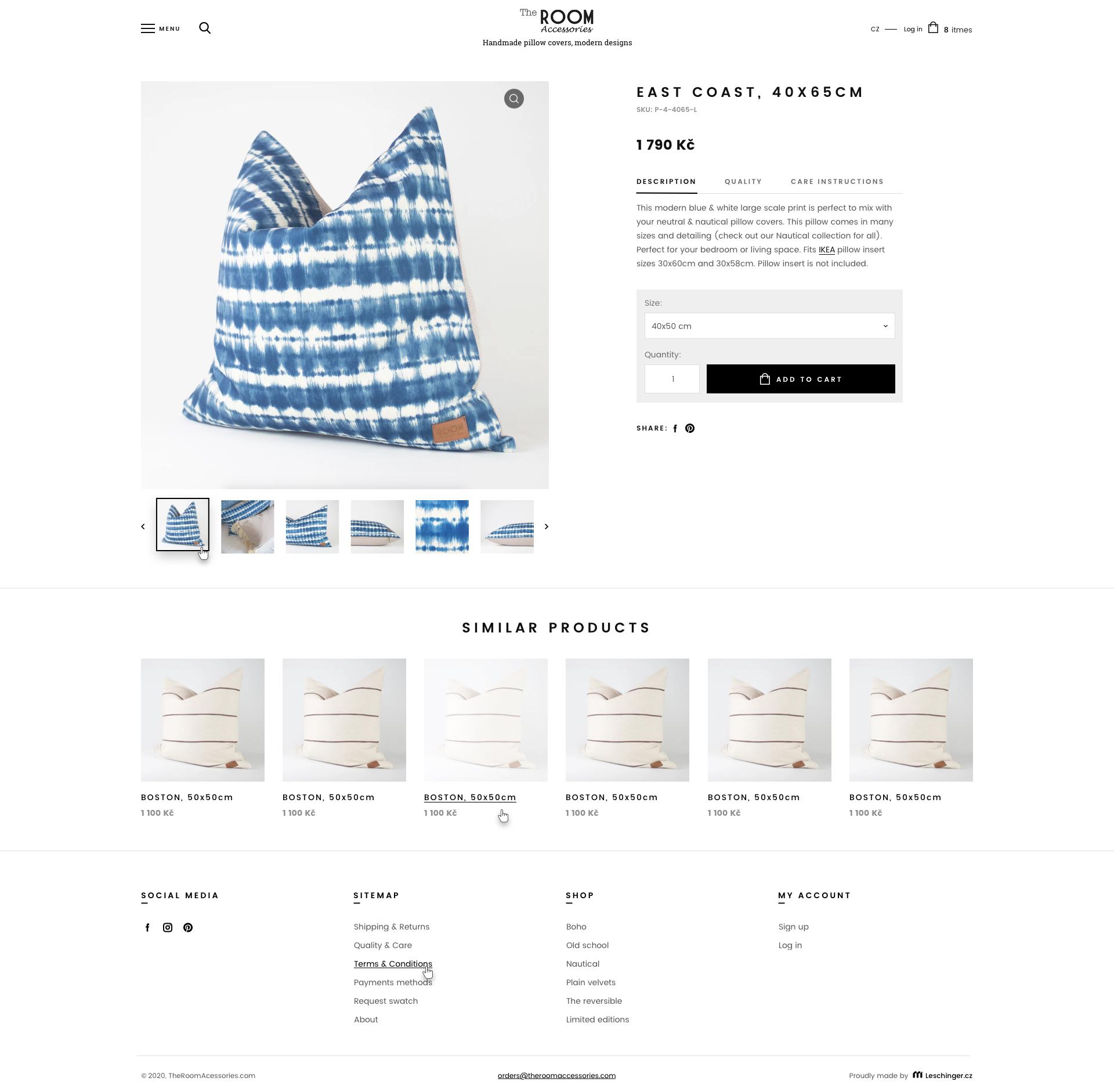 Tvorba woocommerce šablony e-shopu na míru